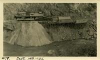 Lower Baker River dam construction 1924-09-19 Access area