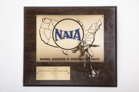 Track and Field (Men's) Plaque: NAIA District 1 Champions, 1984