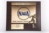 Cross-Country Running (Men's) Plaque: Pacific Northwest Athletic Conference, NAIA Champions, 1995/1996