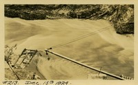Lower Baker River dam construction 1924-12-15
