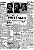 Western Washington Collegian - 1955 March 18