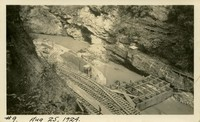 Lower Baker River dam construction 1924-08-25 Diversion dam