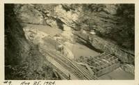 Lower Baker River dam construction 1924-08-25 Diversion dam