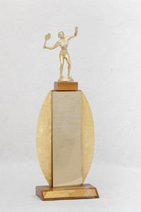 Tennis (Women's) Trophy: NW Collegiate Tourney (front), 1967/1971