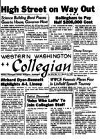 Western Washington Collegian - 1957 March 13