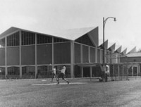 1962 Carver Gym: Softballl Fields