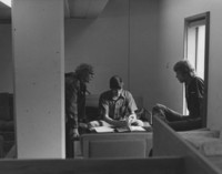 1975 Students in the Library