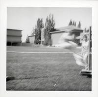 1965 Boy Doing the High Jump