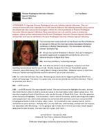 Liz Van Doren interview [transcript]