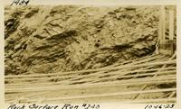 Lower Baker River dam construction 1925-10-16 Rock Surface Run #240