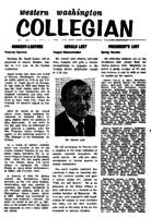 Western Washington Collegian - 1961 August 11