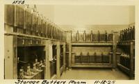 Lower Baker River dam construction 1925-11-12 Storage Battery Room