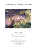 American fly fishing literature: 2014 exhibit