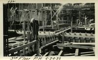 Lower Baker River dam construction 1925-06-24 3rd Floor P.H.