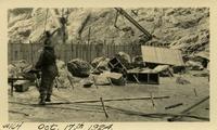 Lower Baker River dam construction 1924-10-17 Base