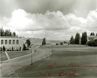 1953 Campus View Westward Including Playfield