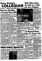 Western Washington Collegian - 1956 April 27