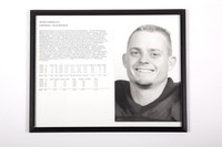 Football Photograph: Wade Gebers , #35, Placekicker, list of honors and records, 1993/1996