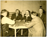 Stanley Tarrant and four unidentified men