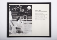 Volleyball (Women's) Photograph: Lorrie Post, Outside Hitter, 1989/1990