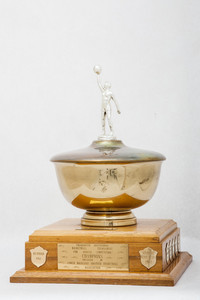 Basketball (Women's) Trophy: Thunderette Invitational Tournament, Lower Mainland Amatuer Basketball Association (front), 1960/1979