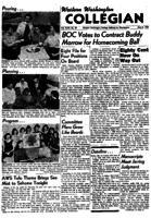 Western Washington Collegian - 1956 May 4