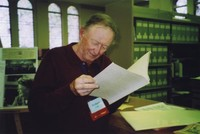 2007 Reunion--Richard Gray in Special Collections