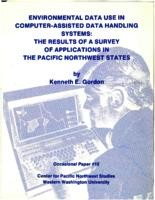 Environmental Data Use in Computer-Assisted Spatial Data Handling Systems