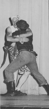 "1948 Homecoming Assembly Skit: ""Luke, I Love you!"""