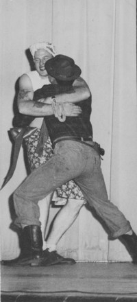 "1948 Homecoming Assembly Skit: ""Luke, I Love you!"""