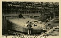 Lower Baker River dam construction 1925-05-08 Draft Tube Form 2S