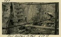 Lower Baker River dam construction 1925-06-19 Rock Surface N. Wall