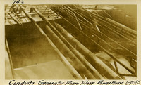 Lower Baker River dam construction 1925-06-15 Conduits Generator Room Floor Power House