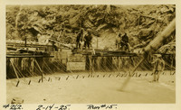 Lower Baker River dam construction 1925-02-14 Run #15