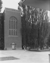 1960 Library: South Facade