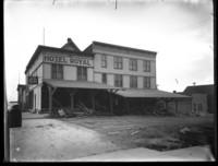 Hotel Royal in downtown Bellingham, WA