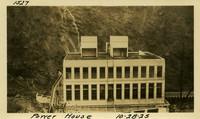 Lower Baker River dam construction 1925-10-28 Power House
