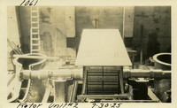 Lower Baker River dam construction 1925-07-30 Rotor Unit #2