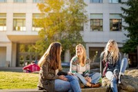 Western Washington University Students On Campus