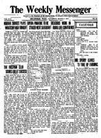 Weekly Messenger - 1918 March 9