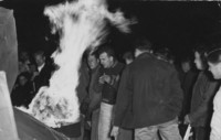 1946 Homecoming Bonfire