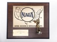 Golf (Men's) Plaque: NAIA District 1 Champions, 1986
