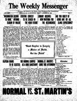 Weekly Messenger - 1922 October 27