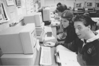 1995 Students in Computer Lab