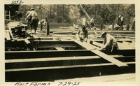 Lower Baker River dam construction 1925-07-29 Roof Forms