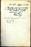 AS Board Minutes 1939-09