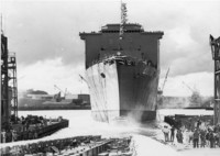 USS Whidbey Launching