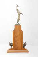 Tennis (Men's) Trophy: Conference Championship (back), 1948