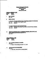 WWU Board minutes February 2009