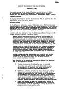 WWU Board minutes 1961 February